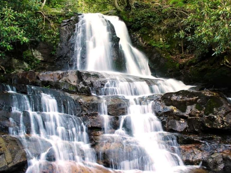 Why the Laurel Falls Trail is One of the Best Hikes in the Smoky Mountains